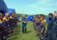 На Новом озере в Кисловодске  прошли учения МЧС