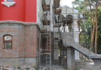 В Кисловодске продолжается строительство Пантелеимоновского храма