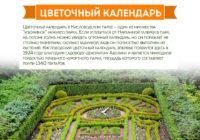 Кисловодск. Цветочный календарь