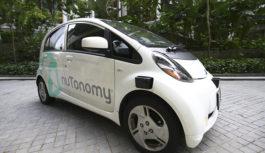 Компания nuTonomy запустила первое в мире беспилотное такси в Сингапуре