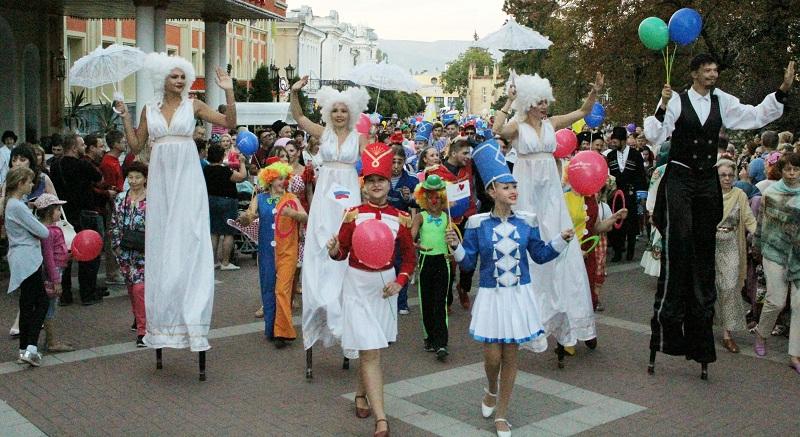 День города в 2019 году Кисловодск отметит большой праздничной программой