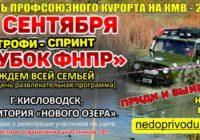 Трофи-спринт состоится в Кисловодске