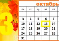 В этот день… 13 октября