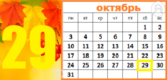 29 октября