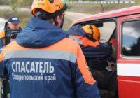 На Ставрополье в смертельном ДТП КамАЗ срезал крышу легкового автомобиля