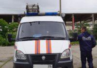Спасатели ПАСС СК эвакуировали машину из кювета.