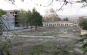 В Кисловодске строится парковка