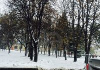 "Снег в Кисловодске повод ""переобуться""?"