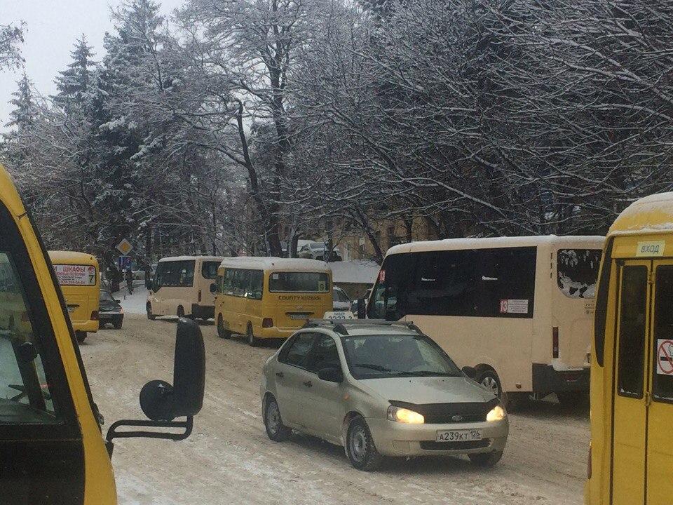 Автобусы в Кисловодске