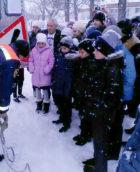 Спасатели ПАСС СК обучают детей правилам безопасности зимой