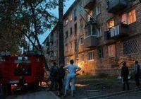 Пожар в жилом доме Кисловодска