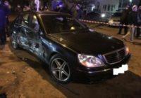Во въездном районе произошла авария с пострадавшими