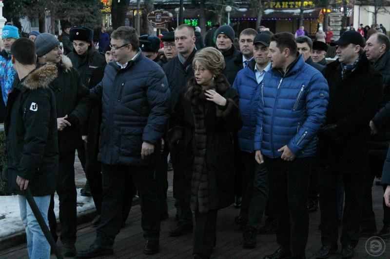 Председатель Совета Федерации Валентина Матвиенко посетила Кисловодск