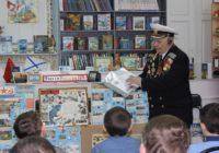В библиотеке состоялась встреча с юнгой Черноморского Флота