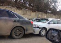 Авария на улице Желябова