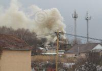 Крупный пожар в Кисловодске