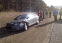 Авария с тремя автомобилями произошла рядом с Кисловодском