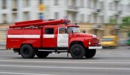 Пожар в гостинице Вершина в Кисловодске