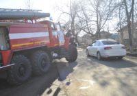 В Андроповском районе Приора столкнулась с трактором