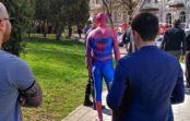 Человек-паук пришел тушить пожар в Кисловодске