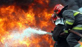 Пожарные ликвидировали возгорание в станице Ессентукской