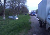 Возле Минеральных Вод столкнулись две машины