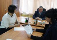 Начальник горотдела отдела полиции в Пятигорске провел прием граждан
