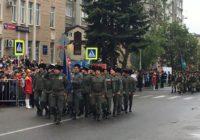 Около 25 тысяч пятигорчан приняли участие в параде Победы