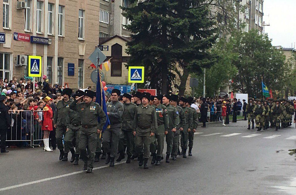 параде Победы