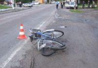 В Кисловодске сбили велосипедиста