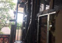 Пожар в центре Кисловодска. Хроника событий