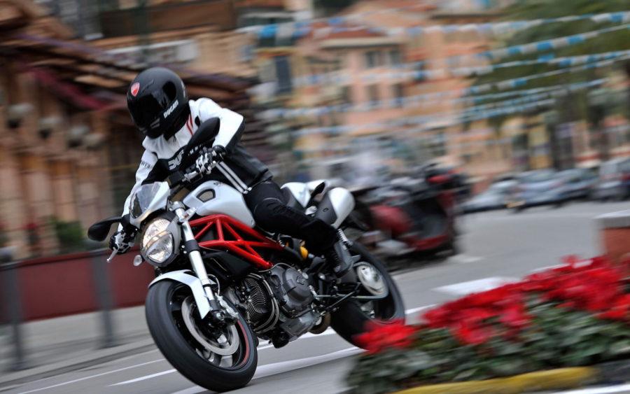 мотоцикле