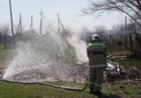 Пожарные потушили горящее сено и кровлю хозяйственной постройки