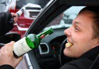 Нетрезвых водителей будут наказывать