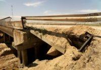 В Минеральных водах разрушен мост