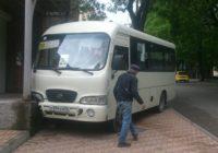 В Кисловодске у автобуса отказали тормоза