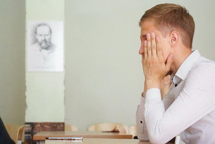 Тамбовские выпускники сдают экзамен пообществознанию