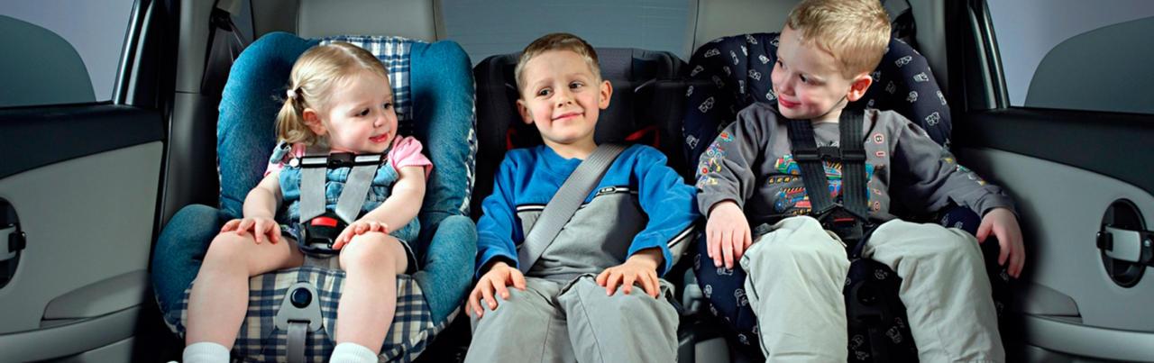 правилах перевозки детей
