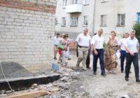 Полным ходом идет капитальный ремонт старого детского сада