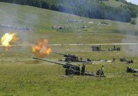 На Ставрополье продолжаются артиллерийские учения