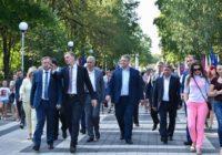Ко Дню города в Ессентуках открыли парк Победы