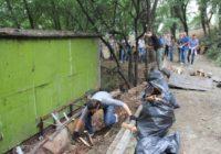 Жители Невинномысска вышли на субботник