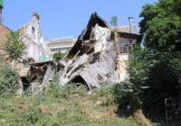 В Ессентуках упал дом