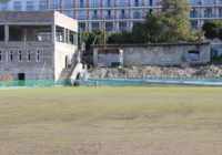 В Железноводске зазеленел футбольный газон