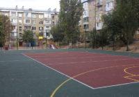 Завершается строительство спортивно-игровых площадок
