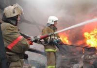 В результате пожара в Кисловодске пострадали люди