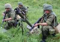 На Кавказе завершились военные учения