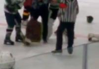Из-за пьяной женщины на Ставрополье остановили хоккейный матч