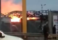 На рынке в Пятигорске произошел пожар