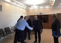 Свой юбилей отметил председатель совета ветеранов ОМВД